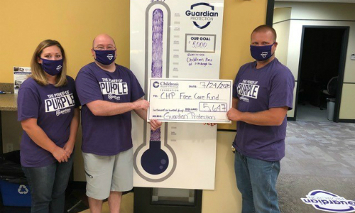 Guardian Protection Employees Raise Money for Children's Hospital of Pittsburgh