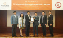 Hanwha Obtains UL Cybersecurity Certification for Wisenet 7 Cameras