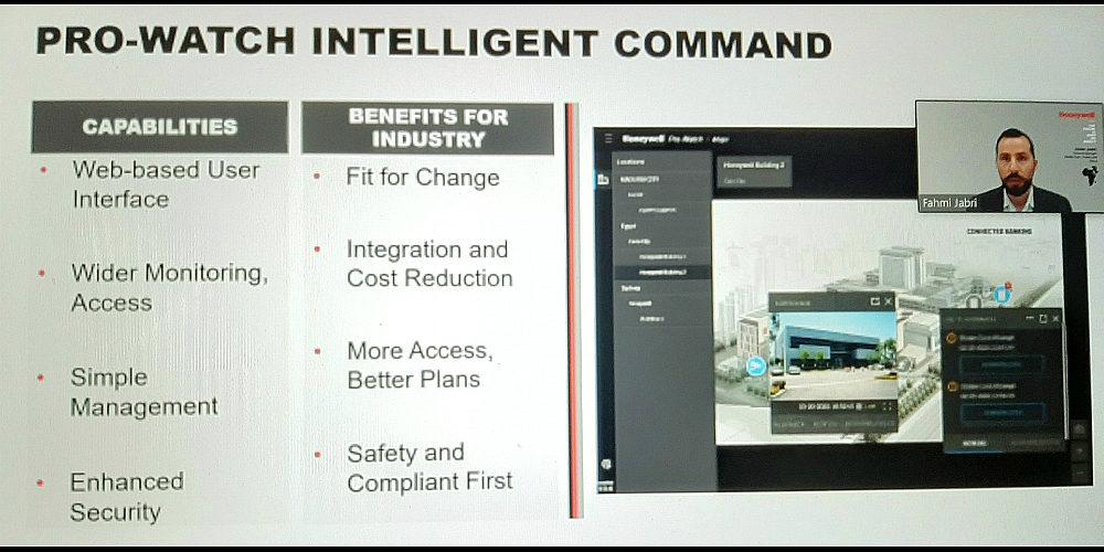 Honeywell Introduces Web-Based Pro-Watch Intelligent Command