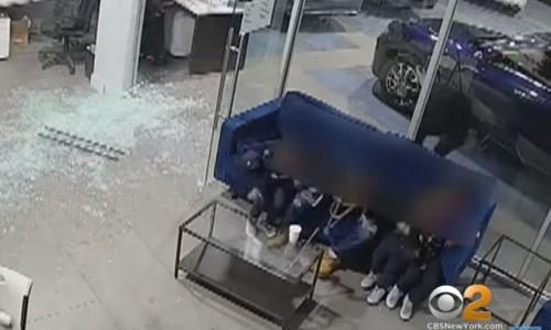 Top 5 Surveillance Videos of the Week: Hero Dad Shields Children From Gunfire