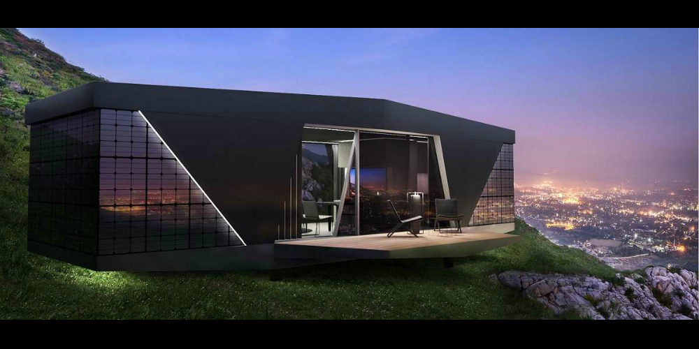 Mini Smart Home Merges High-Tech & Off-the-Grid Living