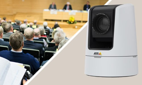Axis Releases P/T/Z Network Camera for Broadcasting, Live Streaming