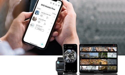 New IDIS Mobile App Integrates Company's Recorders, Cameras and VMS