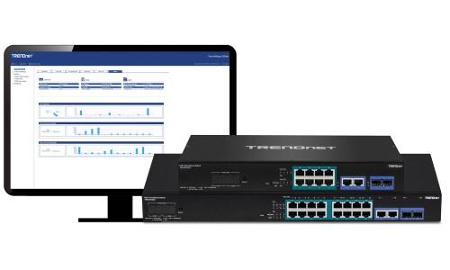 TRENDnet Introduces ONVIF-Conformant Smart Surveillance Switches