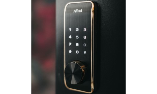 Alfred to Bundle Smart Locks With Ezlo Control Hubs