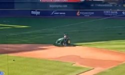 Top 5 Surveillance Videos of the Week: Man Breaks Into Miller Park, Joyrides Tractor