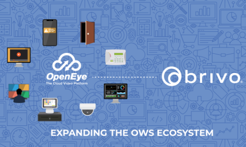 OpenEye Announces New Cloud-to-Cloud Integration With Brivo