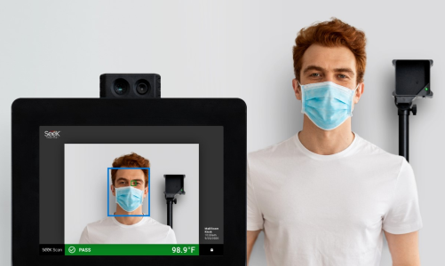 Seek Thermal Unveils Kiosk Solution for All-in-One Temperature Screening