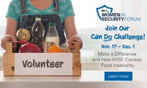 Women in Security Forum to Combat Food Insecurity With 'CAN DO Challenge'