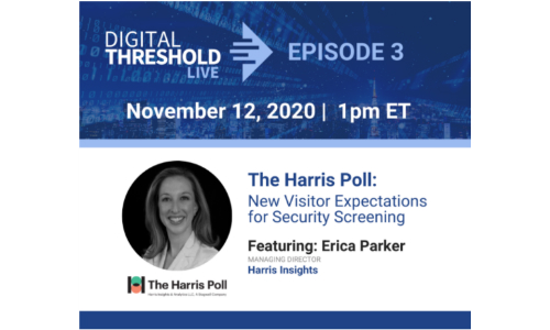 Evolv, Harris Poll Execs to Discuss Visitor Expectations for Security Screening
