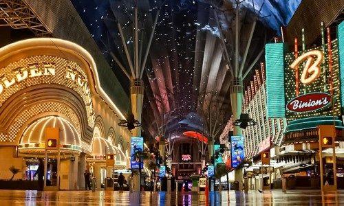 Vegas' Famed Fremont Street Installs Gunshot Detection System