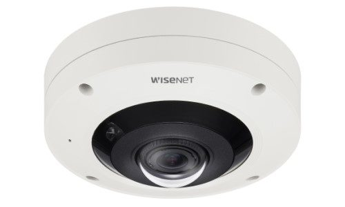 Hanwha's New Wisenet 7 Fisheye Camera Offers 360° MultiDirectional Monitoring