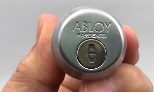 ABLOY Critical Infrastructure Cylinders Protected by Dust Covers