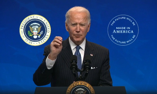 Biden Signs Executive Order to Harness 'Buy American' Rules