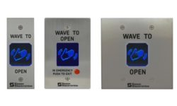 Essex Electronics Updates Hand-E-Wave Touchless Access Control Switch