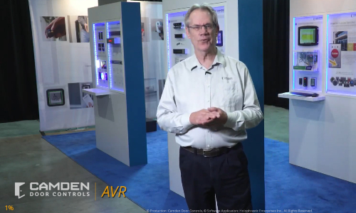 Camden Door Controls Virtual Booth Offers Augmented Video Reality