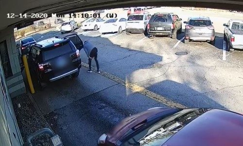 Top 9 Surveillance Videos of the Week: Murder Suspect Escapes During Drive-Thru Stop