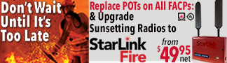 Napco StarLink Fire Footer Promo