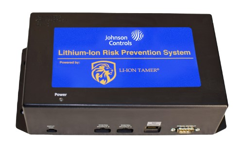Johnson Controls Releases Lithium-Ion Risk Prevention Solution