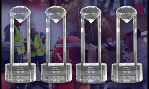 LVC Companies Earns 4th Straight ANSUL Double Diamond Recognition