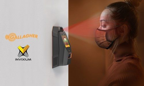 Gallagher Integrates Software With Invixium for Contactless Biometric Temperature, Mask Detection