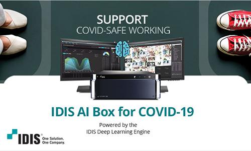 The IDIS AI COVID Solution Keeps Facilities COVID-Compliant & Secure!