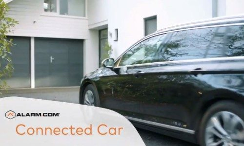 Alarm.com Solution Connects Cars to Smart Home Security System