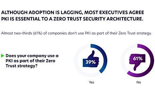 Increased Adoption of PKI Essential to Achieve Zero Trust Strategy: IT Security Survey