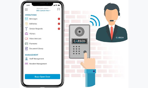 Carson, dormakaba Expand Smart Multifamily Security Solutions