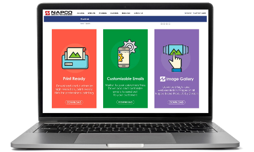 Napco Goes Live With Marketing Tools Portal for Dealers