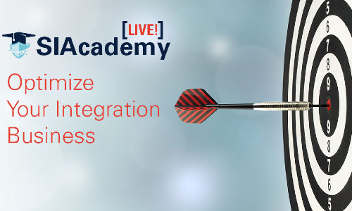 New SIAcademy LIVE! e-Learning Series Aimed at Small, Midsized Integrators