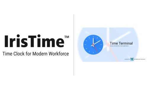 Iris ID's Time and Attendance Platform Integrates With Information Control's TimeTerminal App
