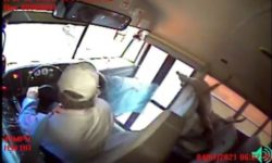 Top 9 Surveillance Videos of the Week: Deer Bursts Through School Bus Windshield