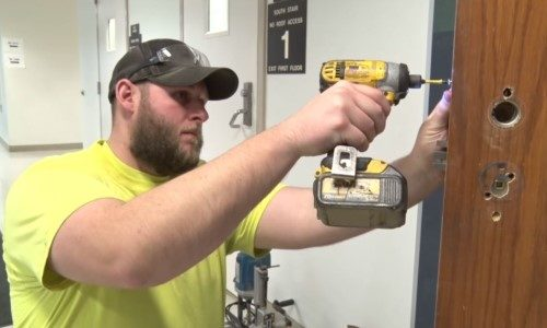 OSU Completes Project to Install More Than 540 Emergency Locks in Classrooms