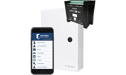 Camden Unveils CV-603 Series 2-Door Bluetooth Access Control System