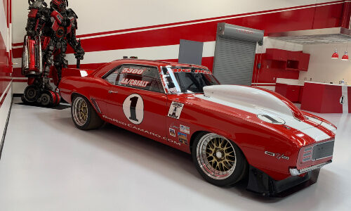 Famous 'Big Red' Camaro Protected by High-Tech Security