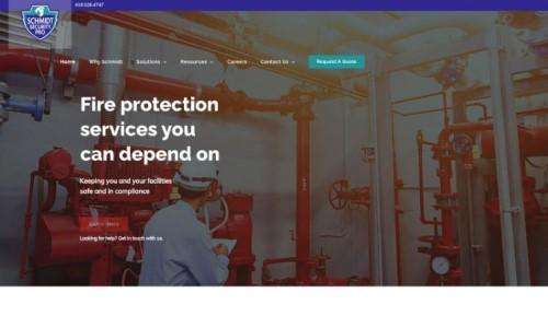 How Schmidt Security Pro Won the 2021 SAMMY Award for Best Website Design