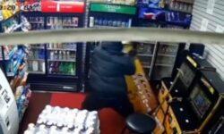 Top 9 Surveillance Videos of the Week: Man Steals Skill Game Machine, Attacks Clerk