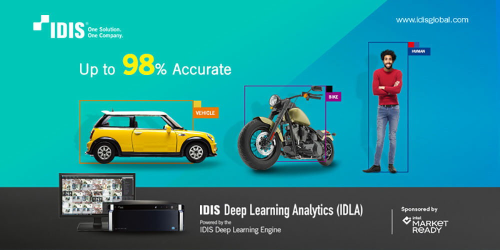 Transform Your Control Room With IDIS Deep Learning Analytics