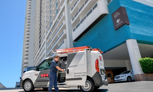 Securitas Electronic Security Provides Biometric Upgrade to Upscale Hotel
