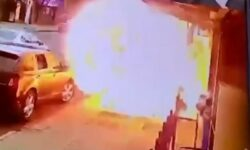 Top 9 Surveillance Videos of the Week: Man Engulfed by Sidewalk Explosion