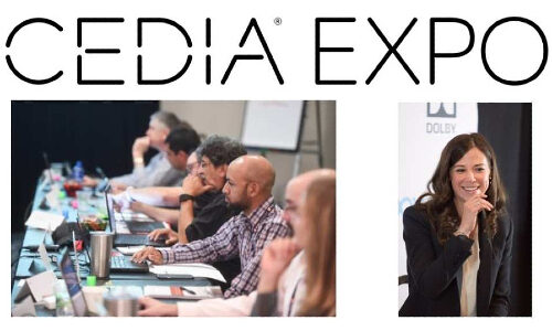 CEDIA Expo Update: Keynote to Be Streamed; 50 Classes Offered On-Demand