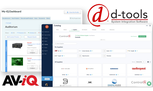 D-Tools and AV-iQ Expand Relationship to Streamline Business Processes