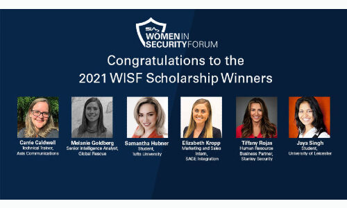 SIA Women in Security Forum Scholarship Winners Named for 2021