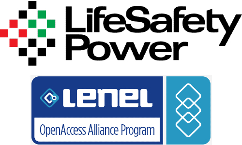 LifeSafety Power Receives LenelS2 Factory Certification