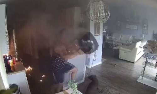 Top 9 Surveillance Videos of the Week: 4-Year-Old Saves House From Air Fryer Fire