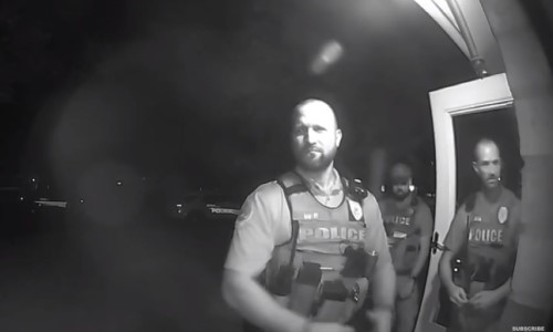 Top 9 Surveillance Videos of the Week: Police Respond to Alarm Tripped by Cockroach