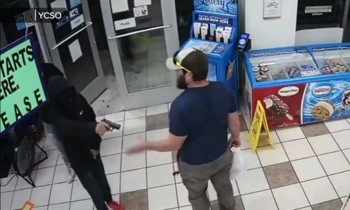 Top 9 Surveillance Videos of the Week: Former Marine Foils Armed Robbery